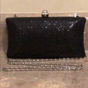 Handbags - Evening Sparkly Clutch/Crossbody